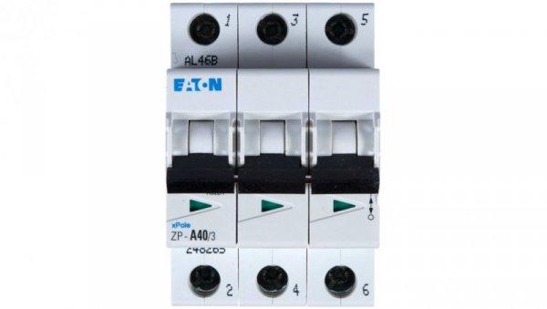 Rozłącznik modułowy 40A ZP-A40/3 (możliwy wyzwalacz) 248265