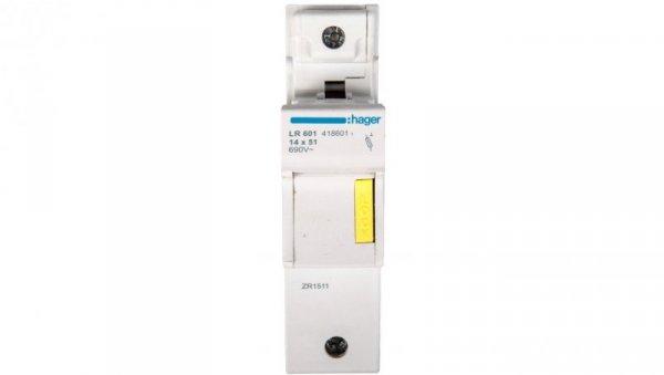 Rozłącznik bezpiecznikowy cylindryczny 1P 14x51mm LR601
