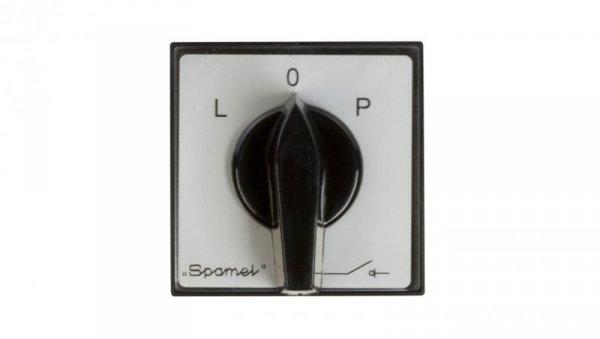 Łącznik krzywkowy L-0-P 3P 16A do wbudowania ŁK16R-3.8368P03