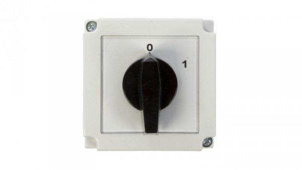 Łącznik krzywkowy 0-1 1P 16A w obudowie 4G16-90-PK 63-840392-021