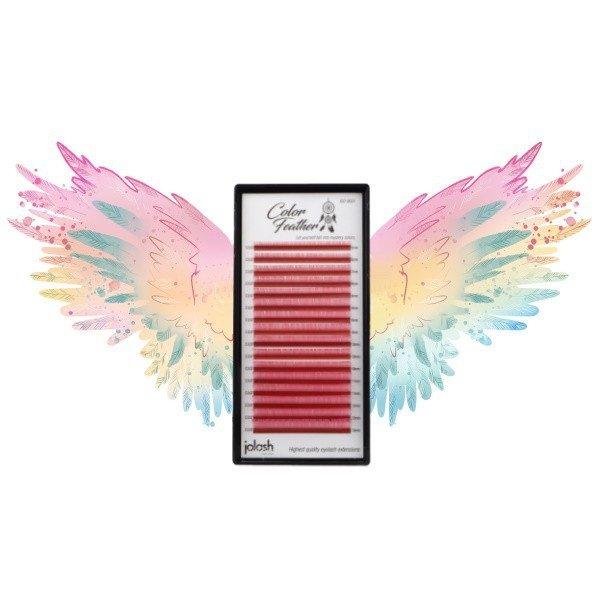 Rzęsy Color Feather Volume Mix - Skręt M
