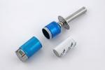 Q-Model Klips rozkręcany z akumulatorem i wskażnikiem