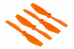 Śmigła ABC-Power Bullnose 5x4 CW/CCW - orange - 4 szt - śmigła P
