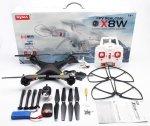 Quadrocopter SYMA X8W 2,4 GHZ KAMERA FPV WI-FI