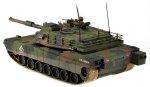 Czołg Abrams M1A1 1:16 27MHz RTR