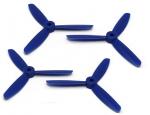 Dal Props Bullnose 4x4.5x3  niebieskie (2CW+2CCW)