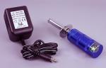 Grzałka aluminiowa BSD RACING z akumulatorem i wskaźnikiem