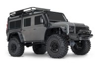 TRAXXAS TRX-4 Land Rover Defender 1:10 RTR TRX4 Srebny