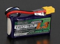 Akumulator Turnigy nano-tech 1300mAh 11,1V 3S 45~90C Lipo Pack