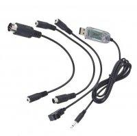 Symulator lotu FMS/XTR na USB z kompletem wtyczek