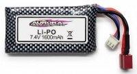 1600mAh 7.4V LiPo T-Dean do XLH-9125
