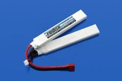 Redox ASG 2400 mAh 7,4V 20C (rozdzielony)