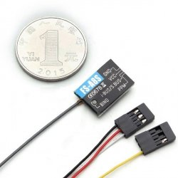 Odbiornik Flysky Micro FS-A8S 2,4G 8-CH - PPM iBUS - do FS-i10 FS-i8 FS-i6 FS-i6s