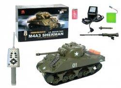 3841-1 Czołg Sherman M4A1 R/C 1:30