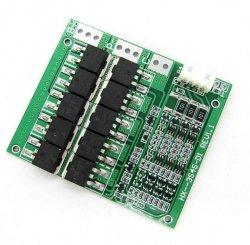 Moduł BMS PCM PCB ładowania i ochrony ogniw Li-Ion - 3S - 11,1V - 100A - do ogniw 18650 - 60x70x0.8mm