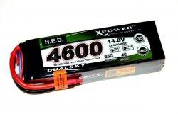 Akumulator Li-Po Dualsky 4600 mAh HED 25C/4C 14.8V