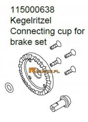 Connecting cup for brake set - Ansmann Virus