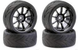 Koła Drift Tire 1/10 Black ANSMANN-RACING