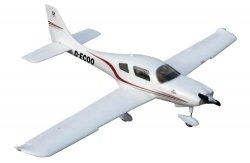 Cessna 350 Rozp: 1435mm Silnik 3F 1320KV - Reg 3F 30A - Serwa 4x