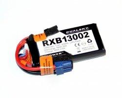 Dualsky RXB 1300mAh 20C/2C 7.4V Voltage Meter