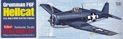 GUILLOWS Samolot z balsy Grumman F6F Hellcat