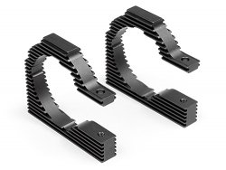 HD HEATSINK MOTOR MOUNT PLATE 10mm (40mm/GRAY)