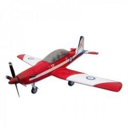 Pilatus PC9 PNP Biało-czerwony - Samolot FlyFly Hobby