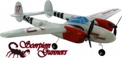 Air Ace PRO P-38 Scorpion Gunners