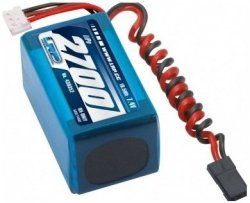 2700mAh 7.4V LiPo VTEC RX-Pack 2/3A - odbiornikowy