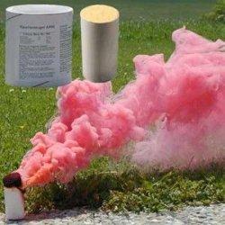Świeca dymna duża AX-60 czerwona - 5szt