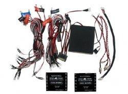 Profesjonalny 4-kanałowy system oświetlenia LED samochodów RC z bluetooth