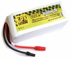 16000mAh 22.2V 15C GPX Extreme