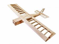 Samolot Stick Balsa Kit (rozpiętość 1060mm) + Motor + ESC + 4x Serwo