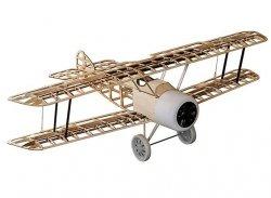 Samolot Sopwith Camel v2 Balsa KIT (1520mm) + Motor + ESC + 4x Serwo