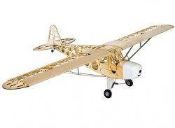 Samolot Piper J-3 Club Balsa Kit (rozpiętość 1800mm) + Motor + ESC + 4x Serwo