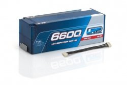 6600mAh 14.8V 110C/55C HardCase LRP Competition Car Line