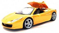 Ferrari z kontrolerem sześciokanałowym 1:14 - Żółty