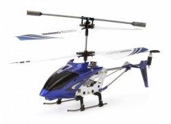 Syma S107G (zasięg do 15m, podczerwień, czas lotu do 8 minut) - Niebieski