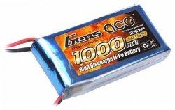 Akumulator Gens Ace 1000mAh 7.4V 25C 2S1P