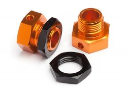 6.7mm Hex Wheel Adapter Trophy Buggy (Orange/Black)