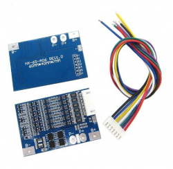 Moduł BMS PCM PCB ładowania i ochrony ogniw Li-ion - 6S - 22.2V - do ogniw 18650