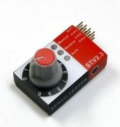 3-funkcyjny Tester Serw (Serwomechanizmów)
