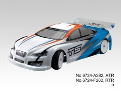 PROMOCJA! Samochód spalinowy typu On-Road TS4n PLUS 3.5 1:10 RTR 4WD (niebieski) - Thunder Tiger