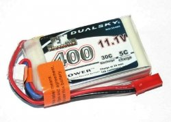 Akumulator Dualsky 400 mAh 30C/5C 11.1V