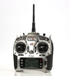 DX7S DSMX Spektrum Air - Heli AR6115E MODE 1-4