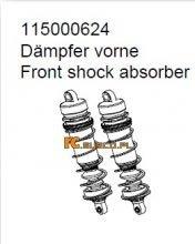 Front shock absorber - Ansmann Virus