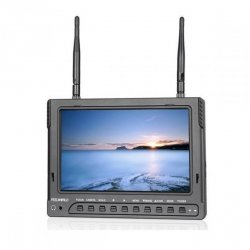 GPX Extreme Monitor FPV PVR732 DVR, 7 IPS, 600p, 5.8GHz, 32CH, 2200mA
