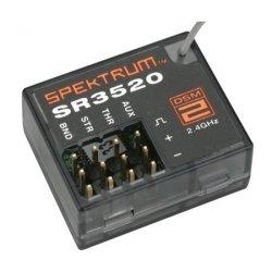 Spektrum DSM2 - odbiornik 3CH SR3520 micro
