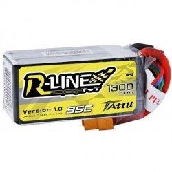 Akumulator Tattu R-Line 1300mAh 14,8V 95C 4S1P R-Line