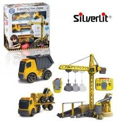 Silverlit - Sterowany Zestaw Budowlany Deluxe Construction